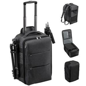 Godox CB 17 Portable Expanding Professional Backpack Roller Case Hybrid 55x37x30
