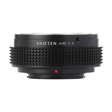 Shoten Lens Adapter Ring for M42 to Fuji X X-T3 X-T10 X-Pro2 X-A2 X-H1 camera