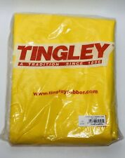 TINGLEY O31007 Yellow Rain Overall Size Large PVC Chemical Resistant