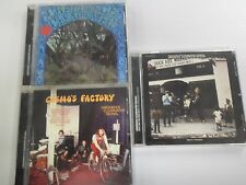 3 CD ALBUM - CREEDENCE CLEARWATER - REVIVAL - WILLY POOR BOYS - FANTASY