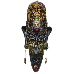 Ancient Originality African Mask Modern Home Hotel Hanging Decoration Art Statue