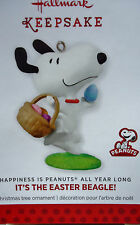 Hallmark 2014 Snoopy as THE EASTER BEAGLE Happiness is Peanuts All Year Long NEW