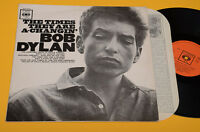 BOB DYLAN LP THE TIMES...1°ST ORIG ITALY 1971 MONO ! FLIPBACK COVER