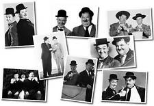 Laurel & Hardy Collection - set of 8 Postcards