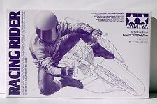 RIDER  FIGURE  LEANING/CORNERING POSE 1/12th  TAMIYA  MODEL  MOTORCYCLE  KIT