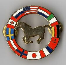 FLAGS OF THE WORLD. EQUESTRIAN