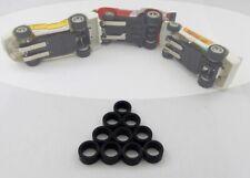 Matchbox Slot car Speedtrack & Powertrack:  10 pneus arrière uréthane Hi-Perf.