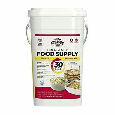 Augason Farms 30 Day Emergency Food Supply Storage 1 Person Pail Bucket Kit