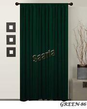 "Saaria Backdrop Velvet Curtain Panel Decor Drape 54""W x 96""H Colors Available"