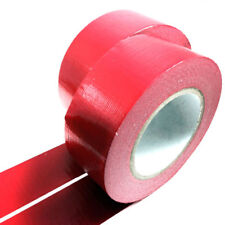 "Duck Duct Cloth Waterproof Gaffer Gaffa Tape Red  2"" 50mm X 45m"