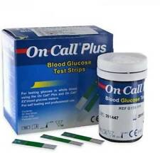50 ON CALL PLUS DIABETIC TEST STRIPS EXP 11/05/2019 FREE SHIPPING