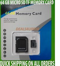 64 GB Memory Card FOR ALL SAMSUNG GALAXY, ZTE ,LG  & ALCATEL SMARTPHONES