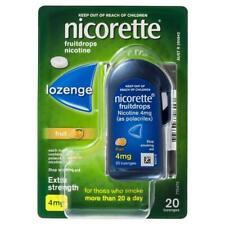 Nicorette Fruitdrops Nicotine Fruit 4mg 20 Pack