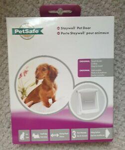 Petsafe Staywell Pet Door dog / cat flap - white Small