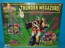 POWER RANGERS MIGHTY MORPHIN  MMPR THUNDER MEGAZORD BOXED 669