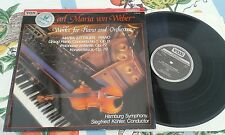 VOX Turnabout TV 334406 - Weber Piano/Orchestra Works Maria Littauer / Kohler