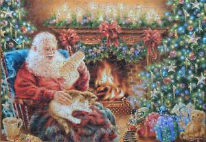 "Wentworth 250 Piece Wooden Christmas Jigsaw Puzzle. ""Dear Santa"" Dona Gelsinger"