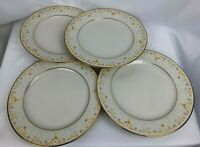Noritake Ivory China_Salad/Dessert Plates_8 1/4 in round_Fragrance_7025_Lot of 4