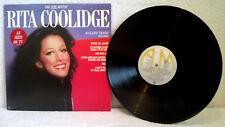RITA COOLIDGE THE VERY BEST OF Greatest Hits VINYL RECORD ALBUM AMLH 68520 EX/EX