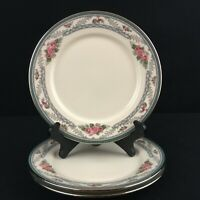 Set of 3 VTG Bread Plates by Lenox Country Romance American Home Collection USA