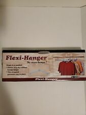 Flexi-Hanger , No more bumps ! Shape it as needed,  5 pcs Set Brand New.