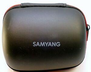 "Samsung 60mm macro 20-50mm Lens Hard Storage Case 4X3"" 12-24mm NX Genuine OEM"