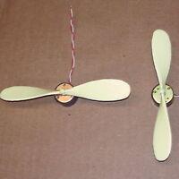 2PCS - Electric MOTOR - PROPELLER DC toy hobby model car boat plane science fair