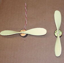 2PCS - Electric MOTOR - PROPELLER DC toy hobby model car boat plane science fair