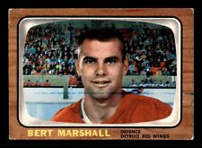 BERT MARSHALL 66-67 TOPPS 1966-67  NO 51 VGEX+ 12761