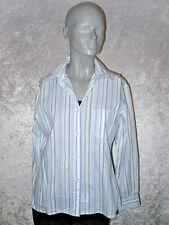 Prego Bluse Langarm weiß/blau gestreift Größe S Neuwertig