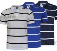 Tommy Hilfiger Striped Regular Size T-Shirts for Men