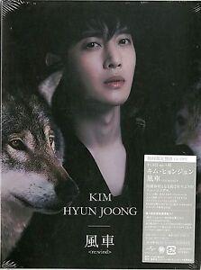 KIM HYUN JOONG-RE:WIND (TYPE-B)-JAPAN CD+DVD Ltd/Ed D86