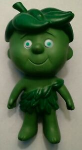 Vintage Green Giant Sprout Child 7 Inch Tall Rubber Figure