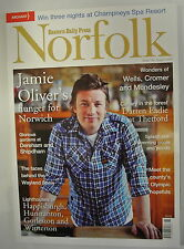 Eastern Daily Press Norfolk Magazine. Issue 160. August 2012. Jamie Oliver's Nor