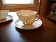NEPTUNE SEASHELL CUP AND SAUCER--SAUCER WITH 2nd BLACK MARK