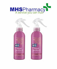 2 x VO5 Heat Protect Styling Spray 200ml