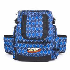 Innova HeroPack Disc Golf Backpack/Bag, 20-30 Disc Storage, Blue Diamond, New