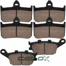 Front Rear Brake Pads For Honda CBR900RR Fireblade 900 1992 1993 1994 1995-1997