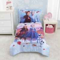 Frozen 2 4 Piece Toddler Bed Set Lavender Plum White Crib Toddler Size