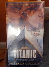 TITANIC VHS THX Widescreen Gold Box 1998 DiCaprio Winslet Cameron SEALED