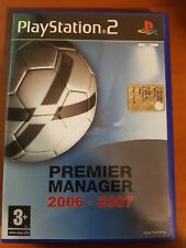 PREMIER MANAGER 2006-2007 - PLAYSTATION 2 PS2 USATO