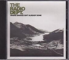 The Radio Dept - Where Damage Isn't Already Done - CD (XLS196CD XL)