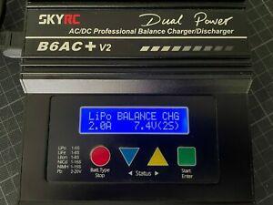 Balancer Ladegerät Original SKYRC iMAX B6AC V2 AC/DC Dual Power LiPo LiFe ua.