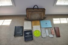 Id'd Air Force USAF 64th Air Div. Pepperrell  Bombardiers Flight Case w contents