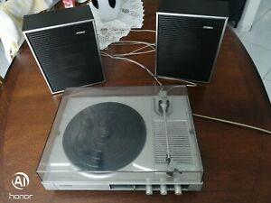 tourne-disque vintage -schneider  TR 3502/19 15 watts 45/33 tours fonctionne sec