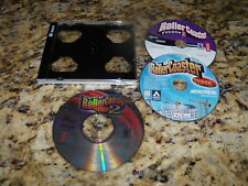 Rollercoaster Tycoon, Rollercoaster Tycoon 2 & Rollercoaster Tycoon 3 (PC games)