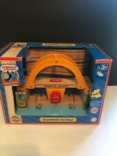 NEW Thomas The Train Rumblin Bridge Wooden Table Toys Interactive Track