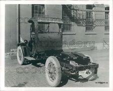 1962 Vintage Tractor Truck Rear View Press Photo