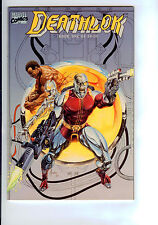 Marvel: Deathlok #1-4 Complete Set Of 4 High Grade Square Bound 52 Page Books