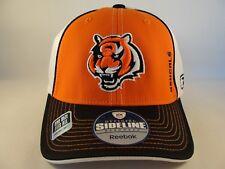 Cincinnati Bengals NFL Reebok Sideline Flex Hat Cap Orange Black White